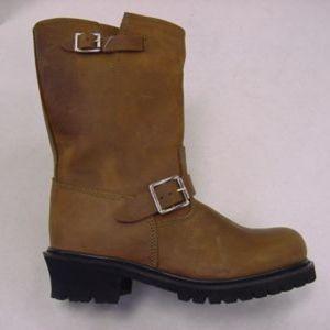 Brown Full Grain Leather Boot